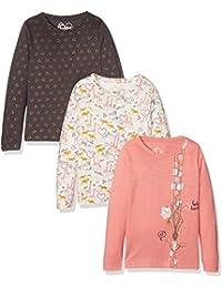 Mothercare Giraffe-3 Pack, T-Shirt Fille