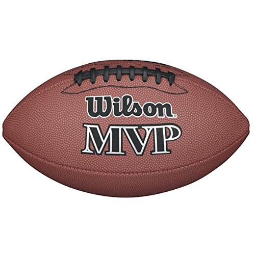 Wilson Mvp Official Pallone da Football Americano, Marrone, Taglia Unica