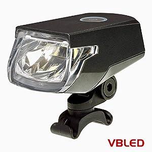 Luz de bicicleta recargable Roxim Raptor X3K CREE LED USB - extremadamente brillante y extensa. Destello delantero - Liviana - Durable – Para viajes complejos