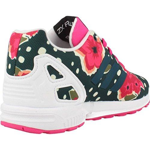 Laufschuhe M�dchen, farbe Farbe Blumen , marke ADIDAS ORIGINALS, modell Laufschuhe M�dchen ADIDAS ORIGINALS ZX FLUX C Farbe Blumen Mehrfarbig