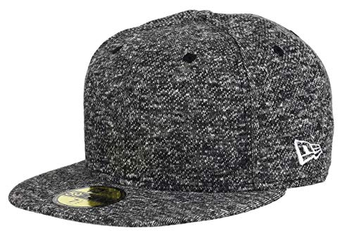 New Era 59fifty Basecap Blank Black French Terry - 7 3/4-62cm Terry Cap