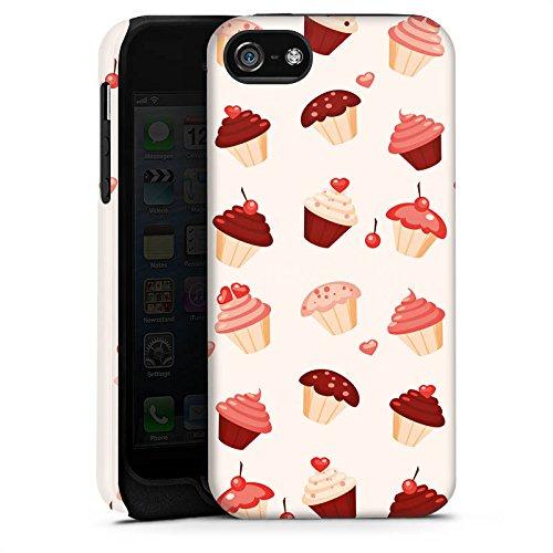 Apple iPhone 4 Housse Étui Silicone Coque Protection Sucrerie Sucré Sucrerie Cas Tough terne