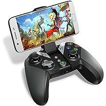 GameSir G4s – Mando de Bluetooth para Juegos, Controlador inalámbrico de 2.4 GHz, compatible con Smartphone / Tableta Android, Windows PC, PS3, Smart-TV, Samsung VR etc.