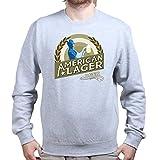 American Lager Super Hero Sweatshirt S Sports Grey