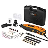 TACKLIFE Rotary Tool Multi-Functional Tool with 80 Accessories Kit and 4 Attachments, Varible