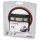 AEG AEF139 T8 Filter-Set für beutellose Staubsauger (1 Schaumfilter, 1 Hygienefilter, 1 Motorfilter, saubere Luft, verbesserte Saugleistung, passgenau, für AEG AT3550, 3560, 3570, schwarz)