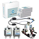 Car Rover H1 55W Canbus Hid Xenon Conversion Kit Fast Start Avec 3 Deuxième Plein À  80% Light Up 6000K