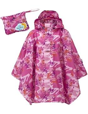 Kozi Kidz, Poncho da pioggia bambina, Rosa, S