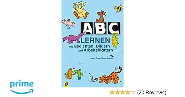 ABC lernen mit Gedichten, Bildern und Arbeitsblättern: Amazon.de ...