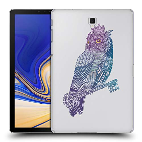 Price comparison product image Official Rachel Caldwell Owl King Animals 2 Hard Back Case for Samsung Galaxy Tab S4 10.5 (2018)