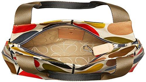 Orla Kiely - Classica Borsa A Tracolla Con Zip - Multicolore Multicolore