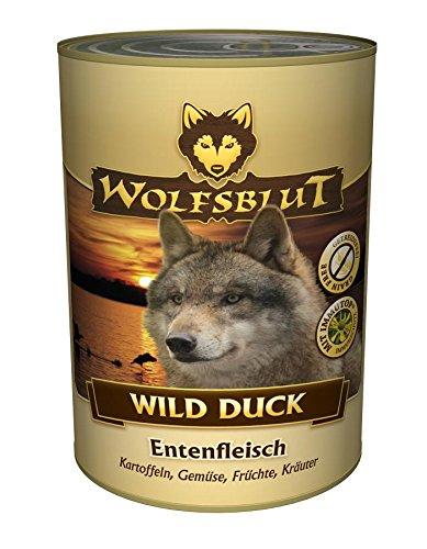 Wolfsblut Duck, 6er Pack (6 x 800 - Nassfutter Wolfsblut 800g