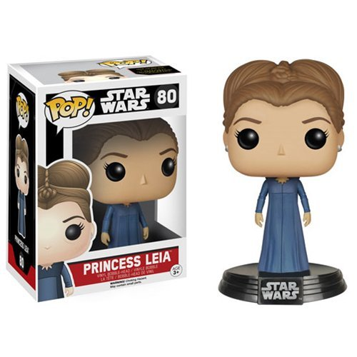 ABC Star Wars VII Princess Leia Pop! Vinyl Bobble Head (80)