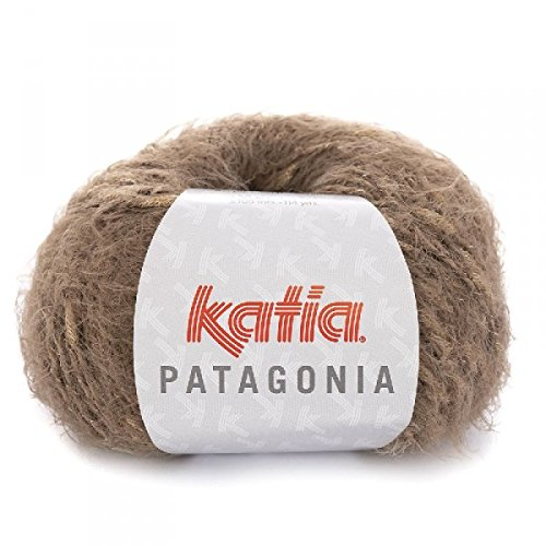 Katia Patagonia - Farbe: Visón/Beige (202) - 50 g/ca. 105 m Wolle -