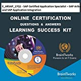 C_TB1300_90 - SAP Certified Development Associate - SAP Business One Release 9.0 Online Certification & Interview Video Learning Made Easy