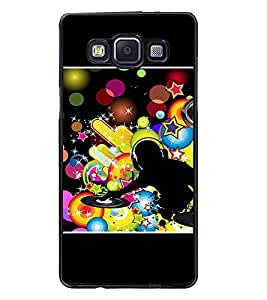 PrintDhaba DJ D-1421 Back Case Cover for SAMSUNG GALAXY A5 (Multi-Coloured)