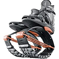Kangoo Jumps, scarpe da rimbalzo, XR3, Kangoo Jumps XR-3 Standard, Black/Orange, 9 - 10