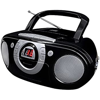 Soundmaster SCD5100SW Radio-Kassettenspieler mit: Amazon
