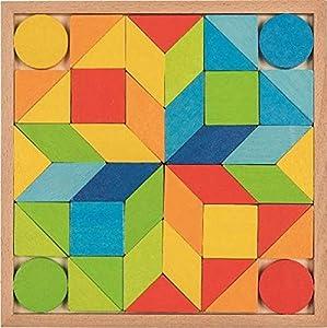 GOKI- Puzzles 3DPuzzles con marcoGOKIJuego de Mosaico, Multicolor (1)