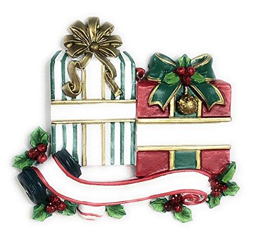 Zwei Geschenke Weihnachtsschmuck, DIY Personalisierte Weihnachten Ornament 2018