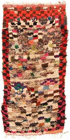 Trendcarpet Tappeto Berberi 225 dal Marocco Boucherouite 225 Berberi x 100 cm ebb6a5