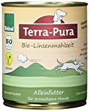 Terra Pura Bio Hundefutter Linsenmahlzeit 750 g, 6er Pack (6 x 750 g)