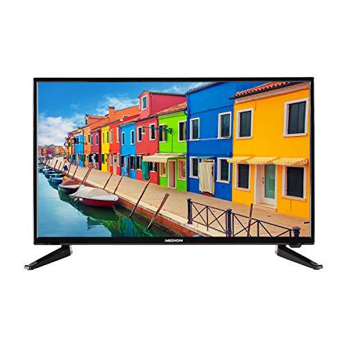 MEDION E12814 69,9 cm (27,5 Zoll) Fernseher (HD Triple Tuner, DVB-T2 HD, CI+ Mediaplayer) -