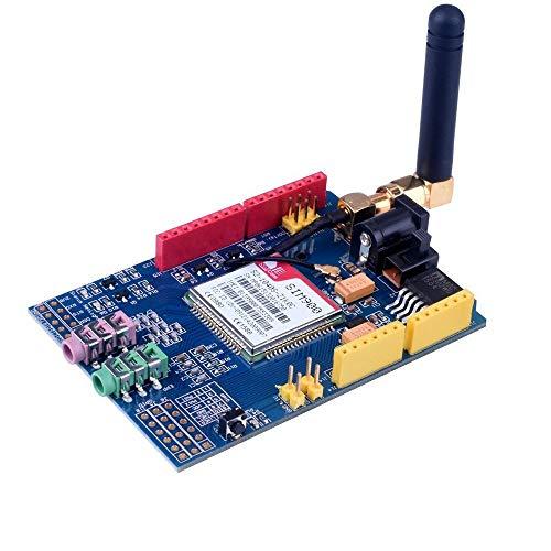 Mcottage Neu SIM900 850/900/1800/1900 MHZ Gprs / Gsm Entwicklungsplatine Modul für Arduino Quad Shield