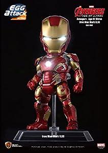 Beast Kingdom Marvel Figura Egg Attack Iron Man Mark XLIII, Multicolor (BKDEAA-004)