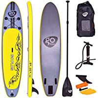 COSTWAY Tablas Paddle Hinchables Remo Surf Board Paddle Board Stand Up Set 335 * 76 * 15cm Inflable