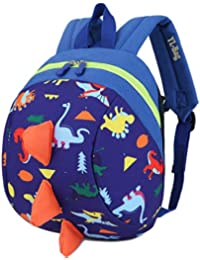 Toddler Kids Backpack Rucksack for Boys/Girl, Dinosaur Rucksack Toddler, Cartoon Safety Anti-Lost Strap Rucksack with Reins Kids Bag 27 * 19 * 11cm / 10.62 * 7.28 * 4.33inch …