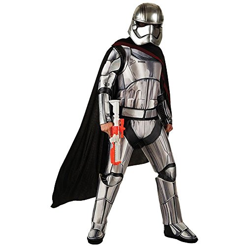 Rubie's Star Wars Herren Kostüm Captain Phasma Karneval Fasching - Captain Phasma Kostüm