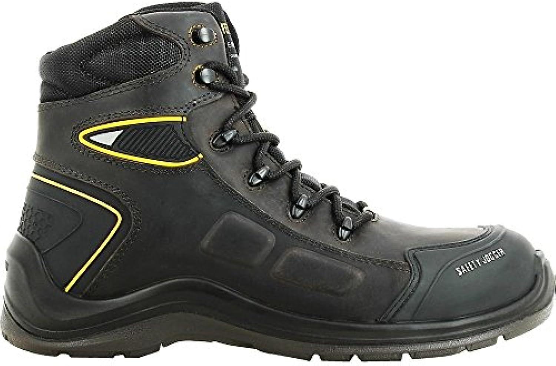 Safety Jogger 200531-46 - Zapatillas de deporte (tamaño 11), color negro y gris