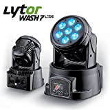 Lyre LYTOR WASH7 LEDS DMX RVB 4W + BLANC