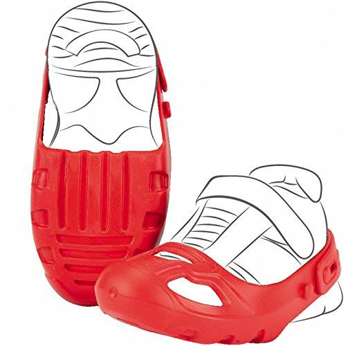 #11 Schuhschoner mit Klettverschluß Rot für Schuhgröße 21-27 Schuh Schoner Schuhschützer Größe Rutscher Bobby Car