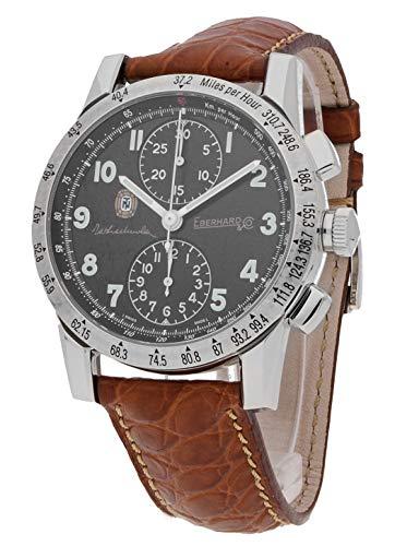 Eberhard & Co 31037.5 CP Tazio Nuvolari Montre pour Homme avec chronographe analogique et Automatique Doré