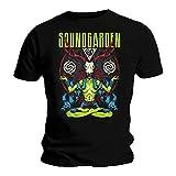 Soundgarden T-Shirt - Homme Noir Noir - Noir - X-Large