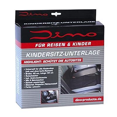 Dino 130019 Kindersitz-Unterlage mit Netztaschen und Antirutschfunktion