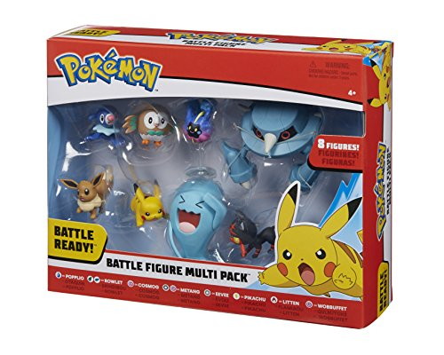 Pokemon 96302 Battle 8 Figura, Multicolor, 2/3 Pulgadas 5
