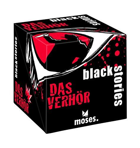 moses. 90016 - Kartenspiel - black stories - Das (Der Hat Spieler Black)