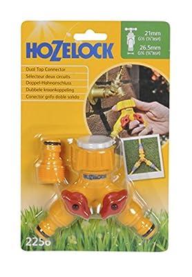 Hozelock Dual Control Valve Tap Connector