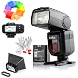 Godox Camera Flash Speedlite for SONY DSLR Seriese kameralar V860II-S Flash with X1T-S Trigger