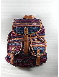 mochila juvenil tipo etnico