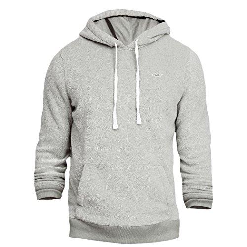 hollister-mens-textured-icon-pullover-hoodie-fleece-sweatshirt-hoody-size-l-grey-625664131