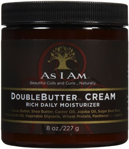 As I Am Double Butter Rich Daily Moisturizer, 8 Ounce by As I Am [Beauty] (English Manual)
