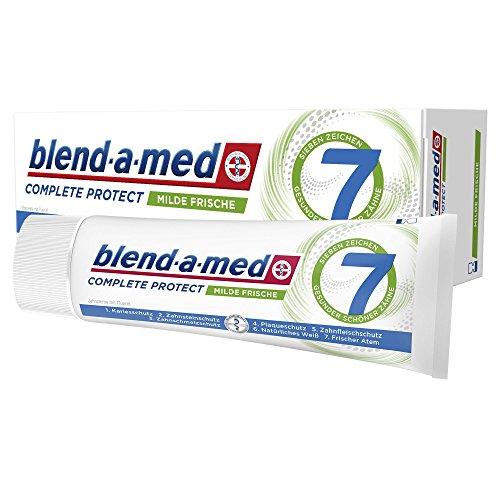 Blend-a-med Complete Protect7 Milde Frische Zahncreme 75ml, 12er Pack (12 x 75 ml) -