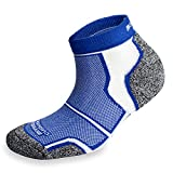 3 Pairs More Mile New York Cushioned Coolmax Sports Running Sock - Blue