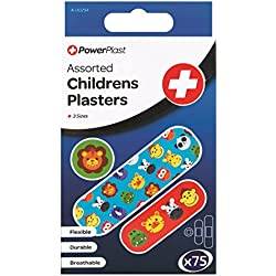 Stalwart A-00294-ac assortis pansements pour enfant (lot de 75)