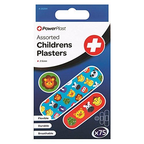 Stalwart A-00294-ac assortis pansements pour enfant (lot de 75)