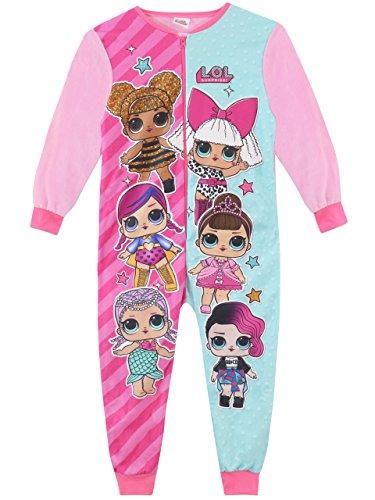 Lol surprise!! tutina a maniche lunghe per ragazze dolls multicolore 5-6 anni